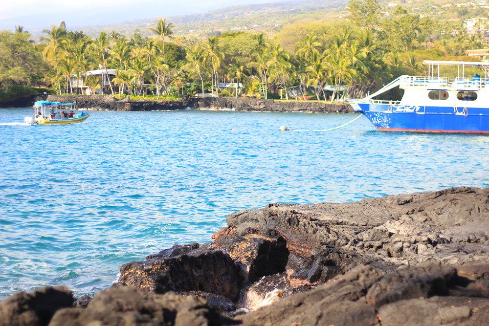 Keauhou Bay, Hawaii