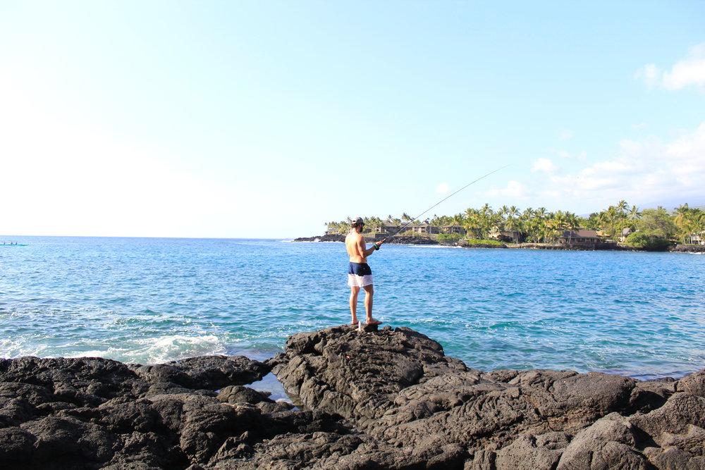 Keauhou Bay Hawaii