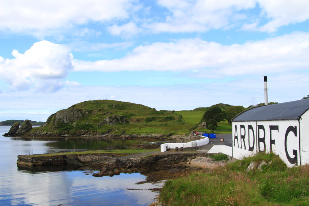 Ardbeg Distillery, Scotland