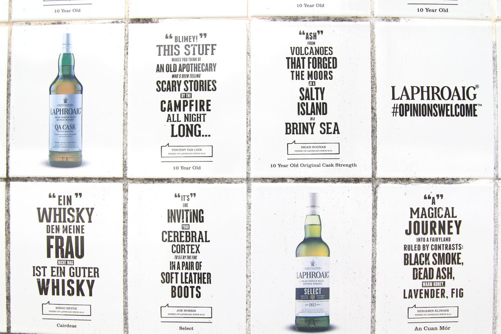 #opinionswelcome at Laphroaig Distillery