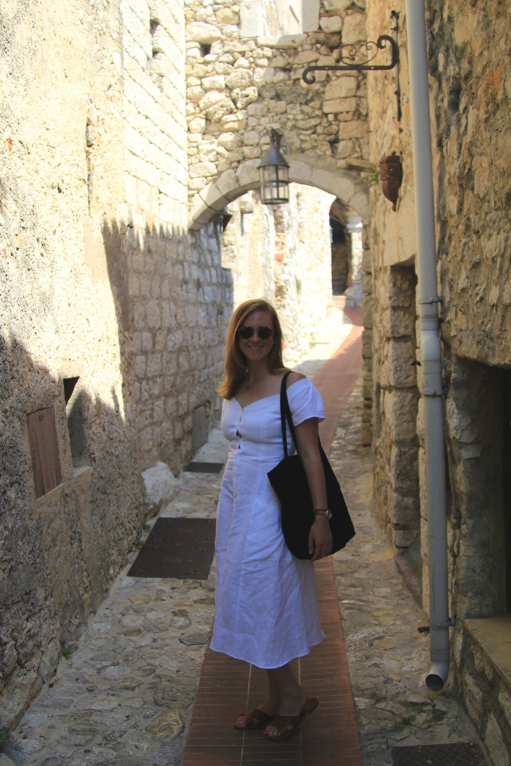 Exploring the medieval town of Eze, France