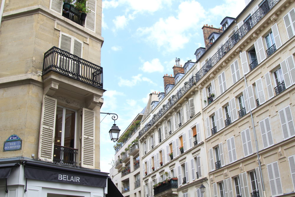 The Marais District (4th arrondissement) is one of Paris best kept secrets