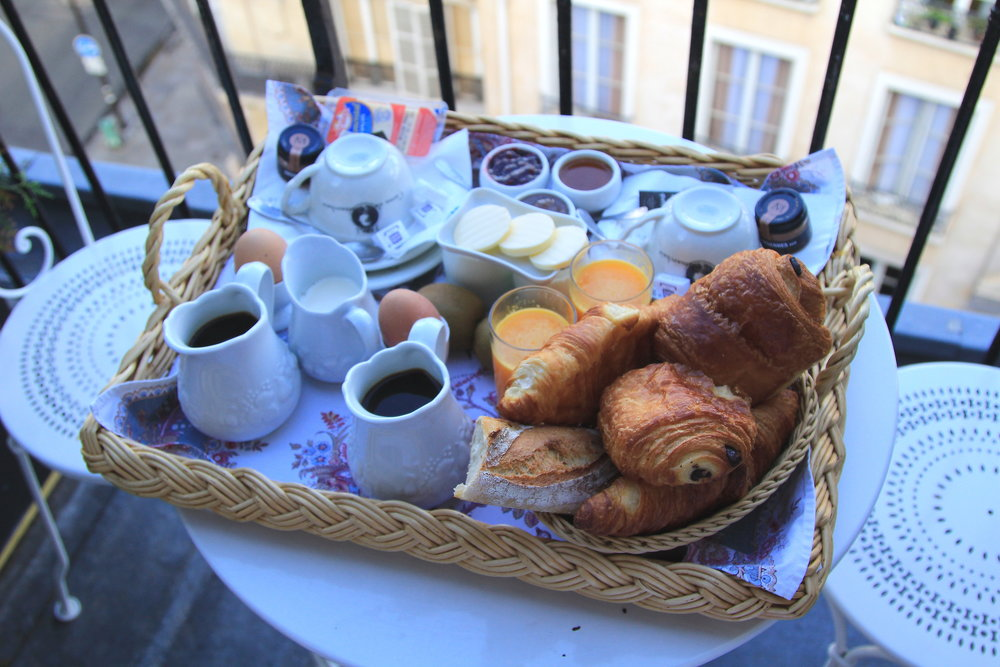 Breakfast in Paris - perfection