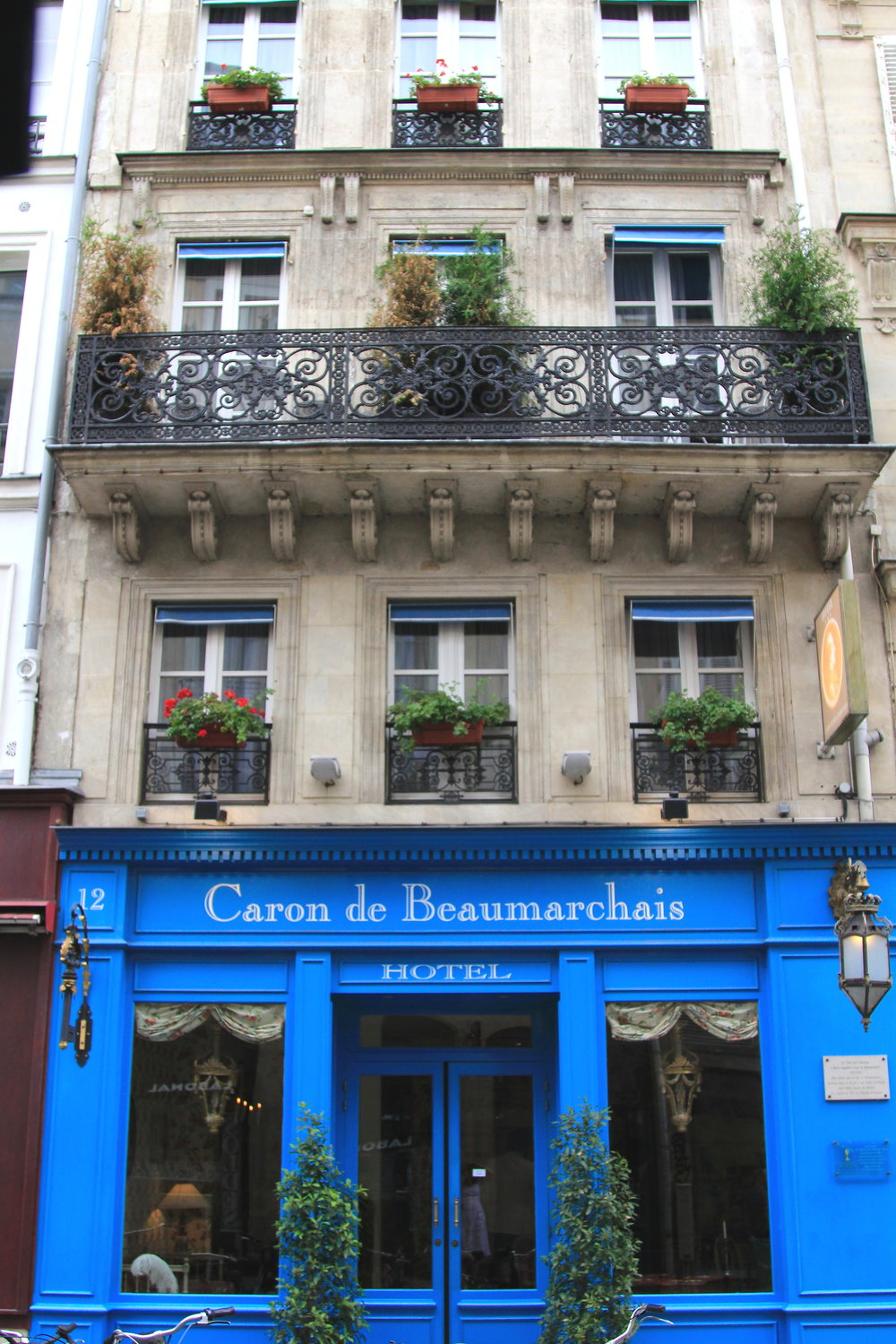 Hotel Caron de Beaumarchais - delightful hotel in the 4th arrondissement