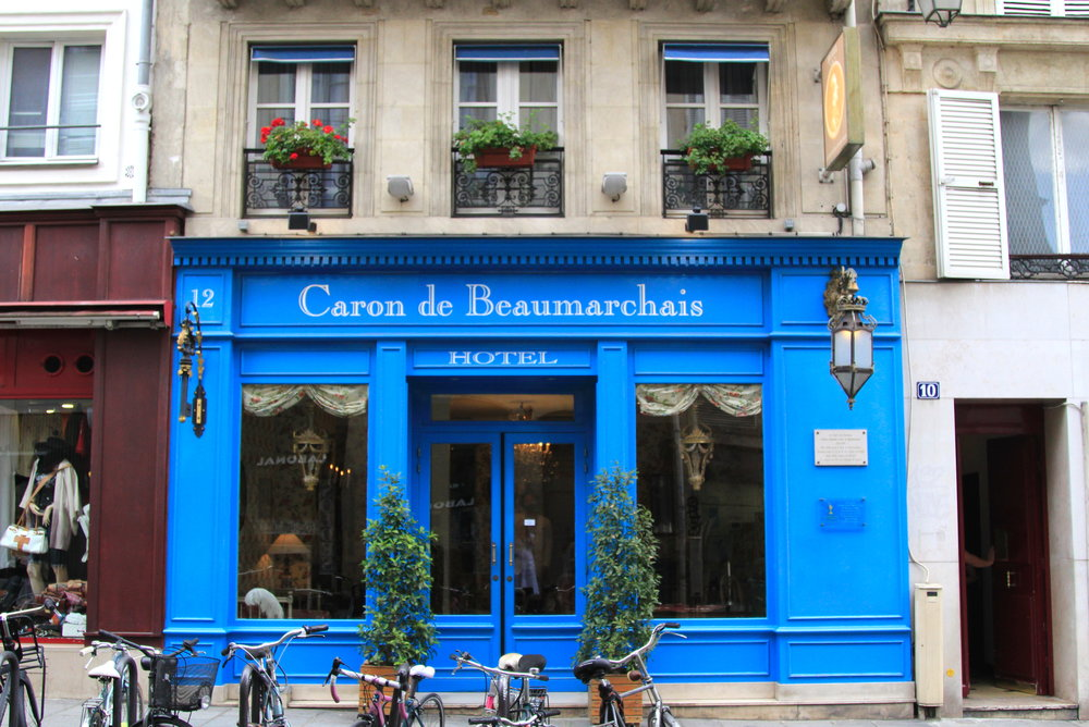 Hotel Caron de Beaumarchais in Paris