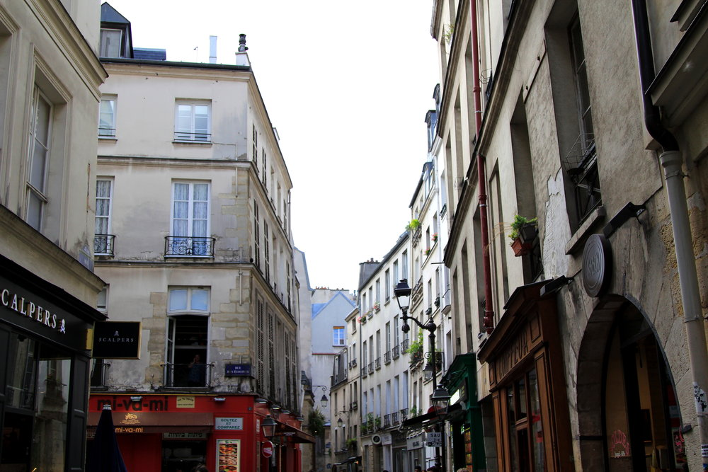 The Marais District, Paris