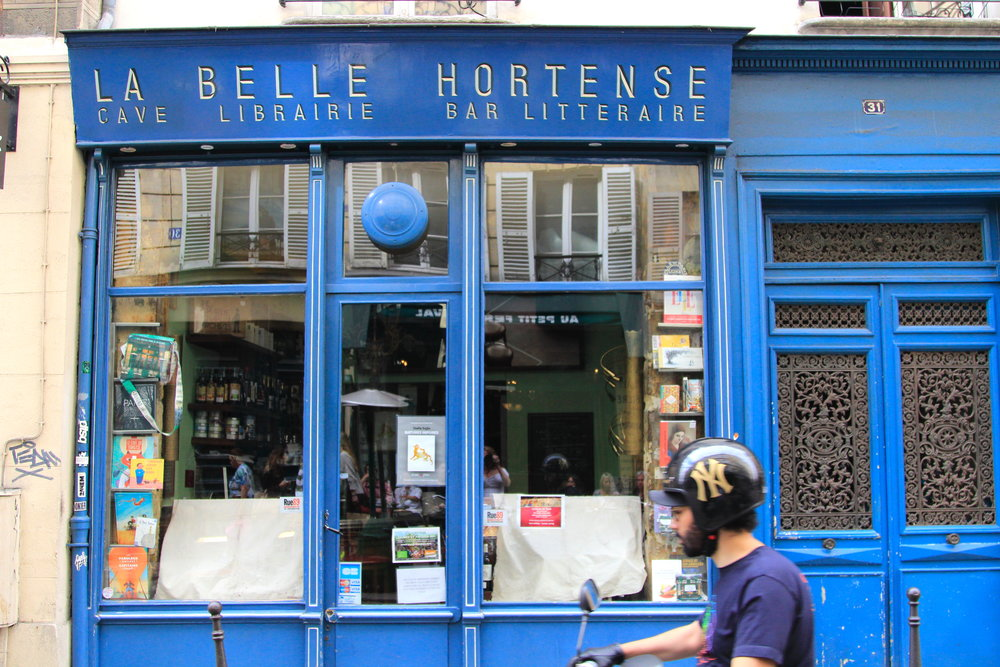 La Belle Hortense in Paris - best wine bar/bookshop out there!