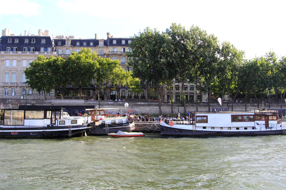 Paris riverboats