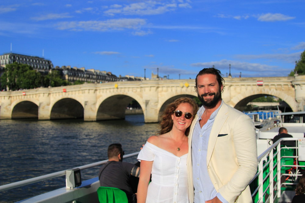 Paris river cruise - grab a bottle of wine and your significant other and spend an evening on the Seine