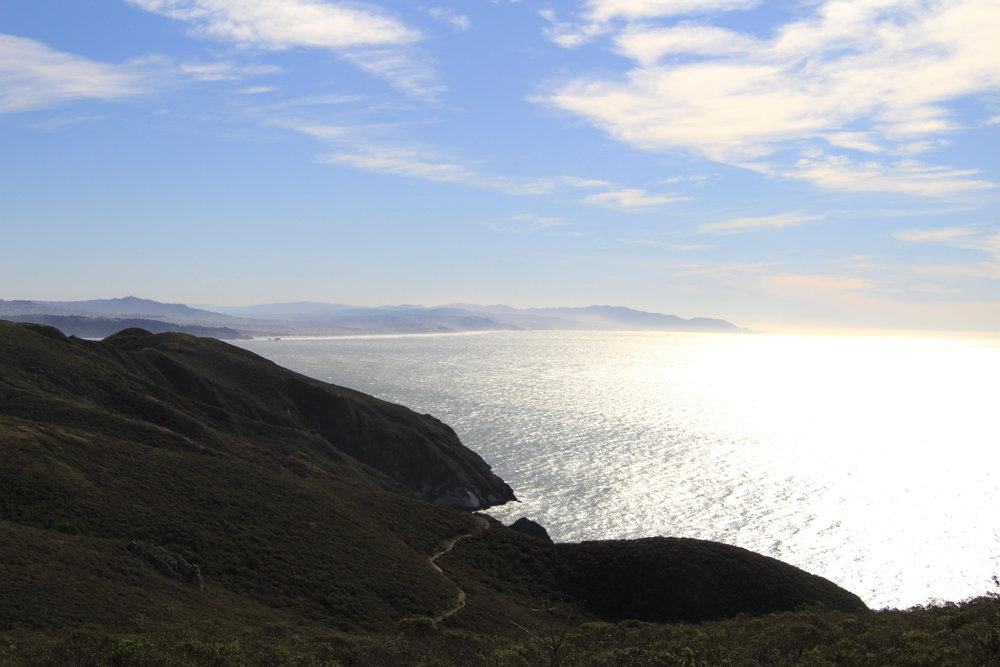 Hiking in Marin County, California