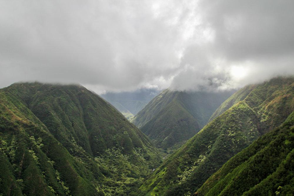 Waihe'e Ridge Trail, Maui (spectacular!)