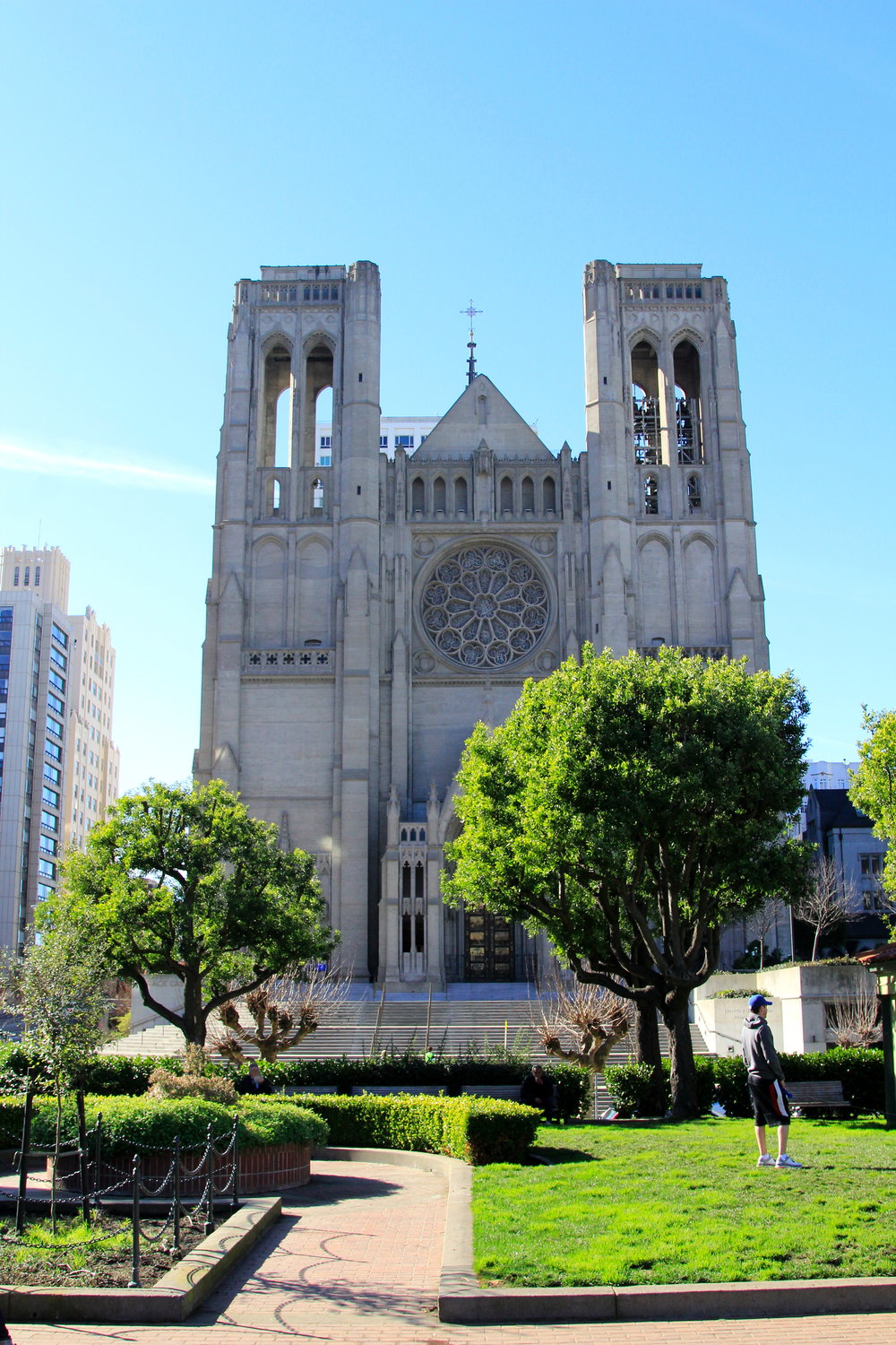 Grace Cathedral, San Francisco. City Guide - Nob Hill.