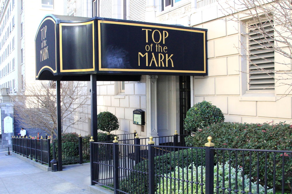 Top of the Mark - great bar in San Francisco with aerial views of the city