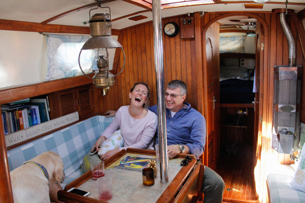 living aboard a sailboat - blog