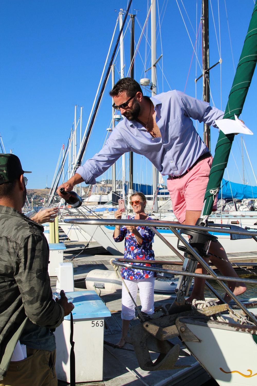 Boat Christening