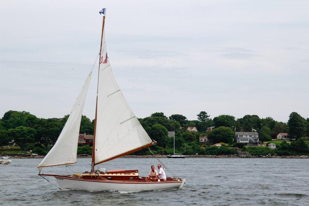 sailing in Newport, RI