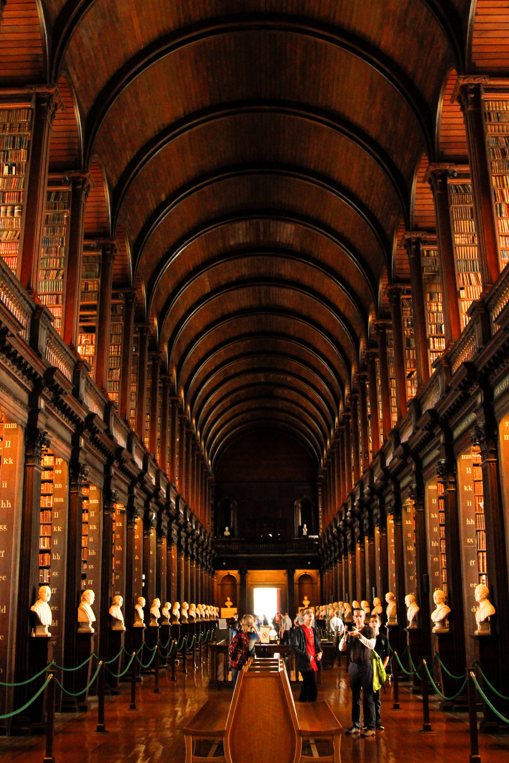 The Long Room - Library of Trinity College Dublin