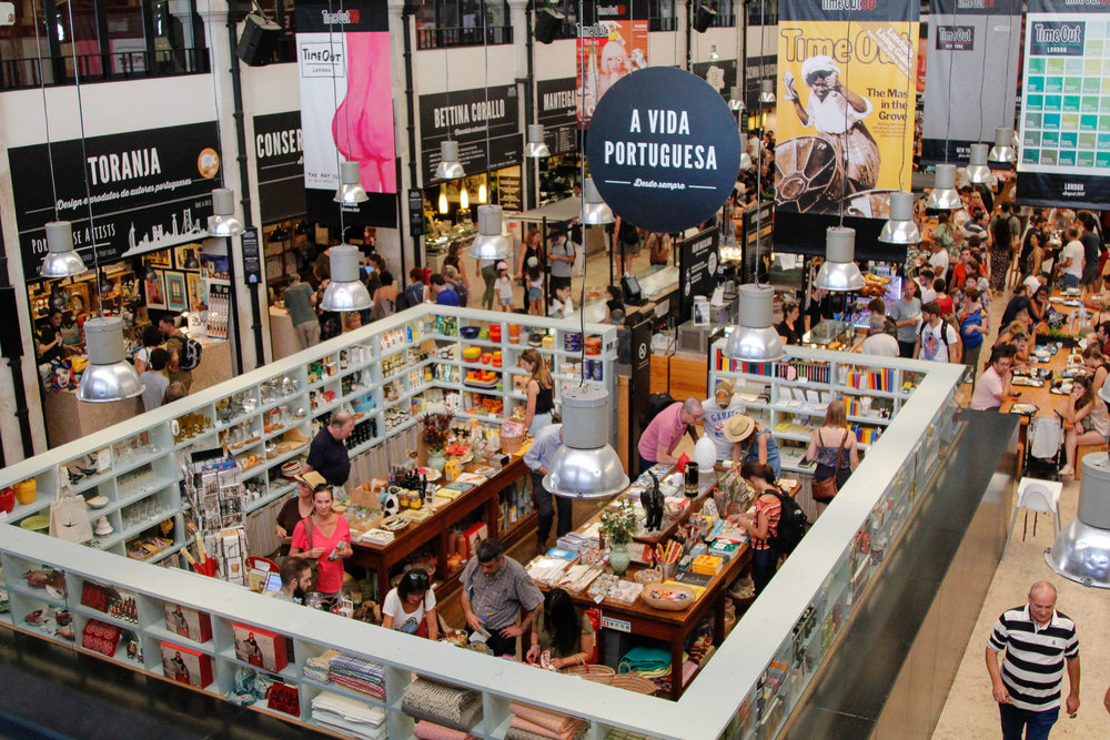 Time Out Market Lisbon - a must try for foodies!