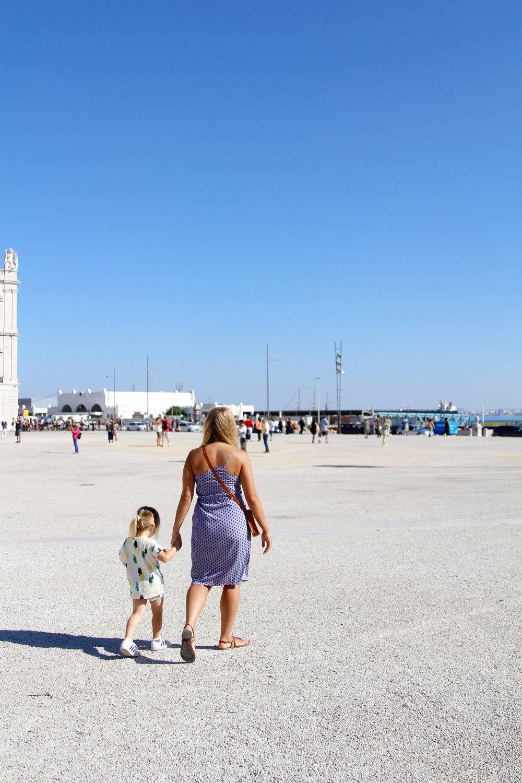 family in Lisbon