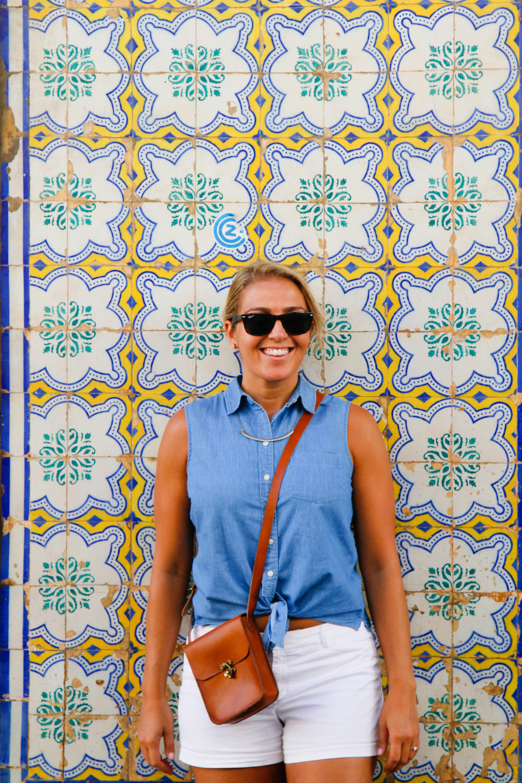 The tiles in Lisbon - so dreamy!