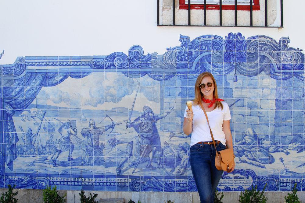 gelato in Lisboa!