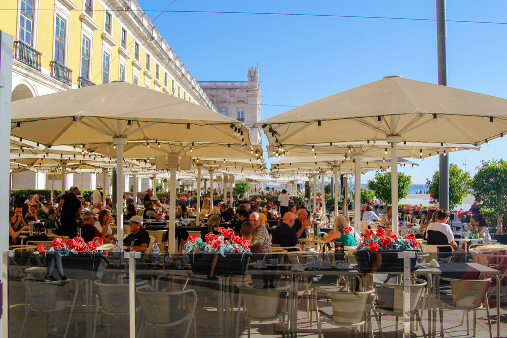 Lunchtime in Lisbon, Portugal