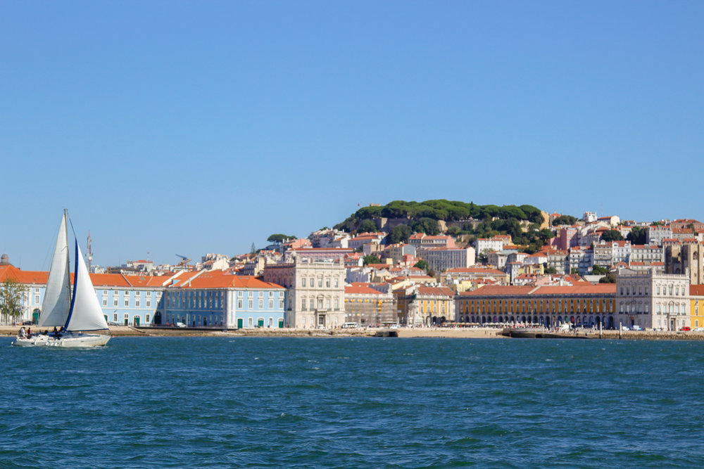 Lisbon from the water!