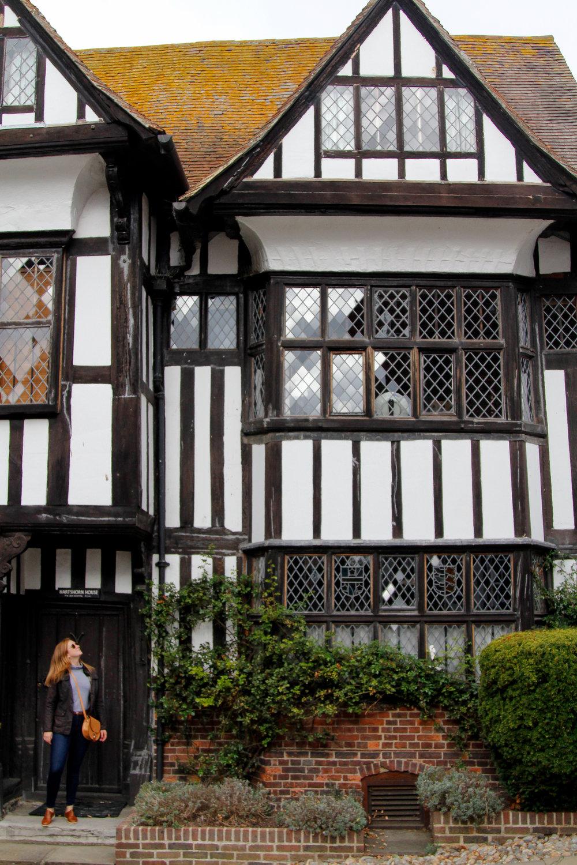 stunning medieval architecture in rye