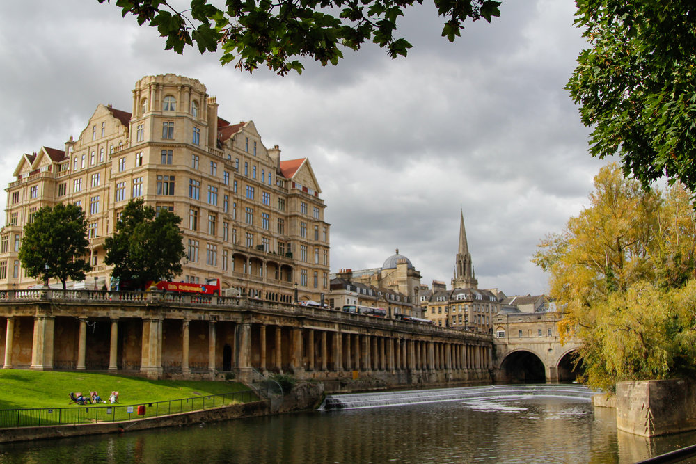 Bath, Somerset - just a train trip out of London
