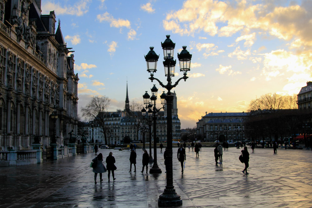 guide to Paris in the winter