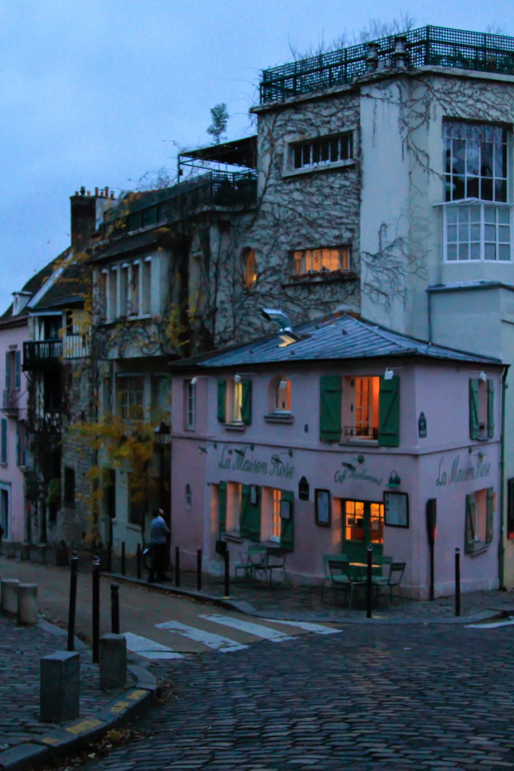 La Maison Rose in Montmartre