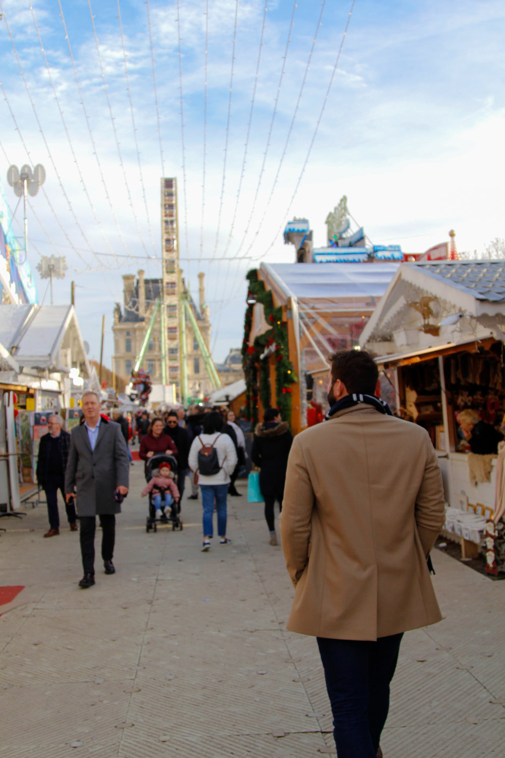 Christmas Market at Jardin des Tuileries