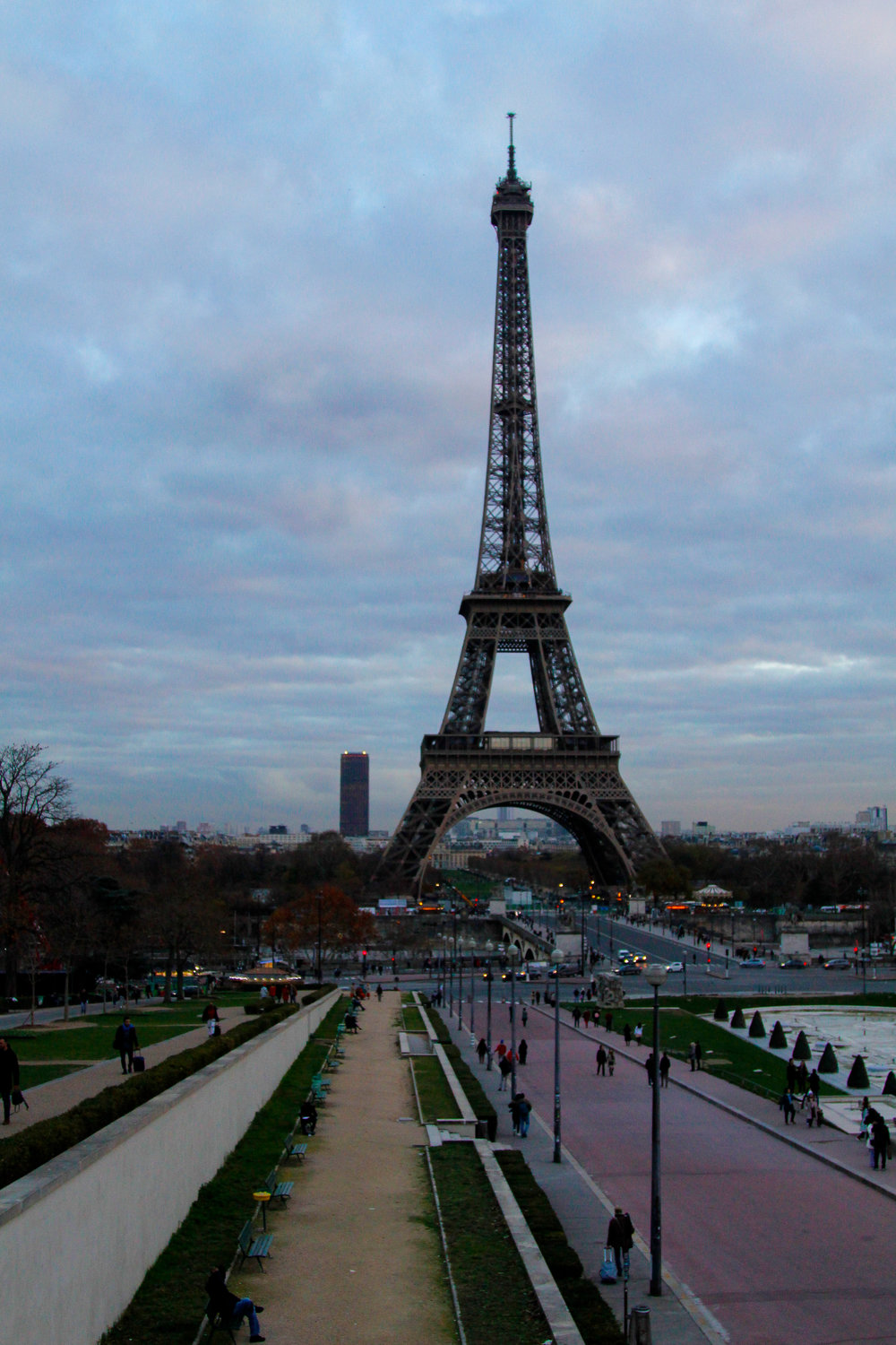 View of the Eiffel Tower from the Place du Trocadero