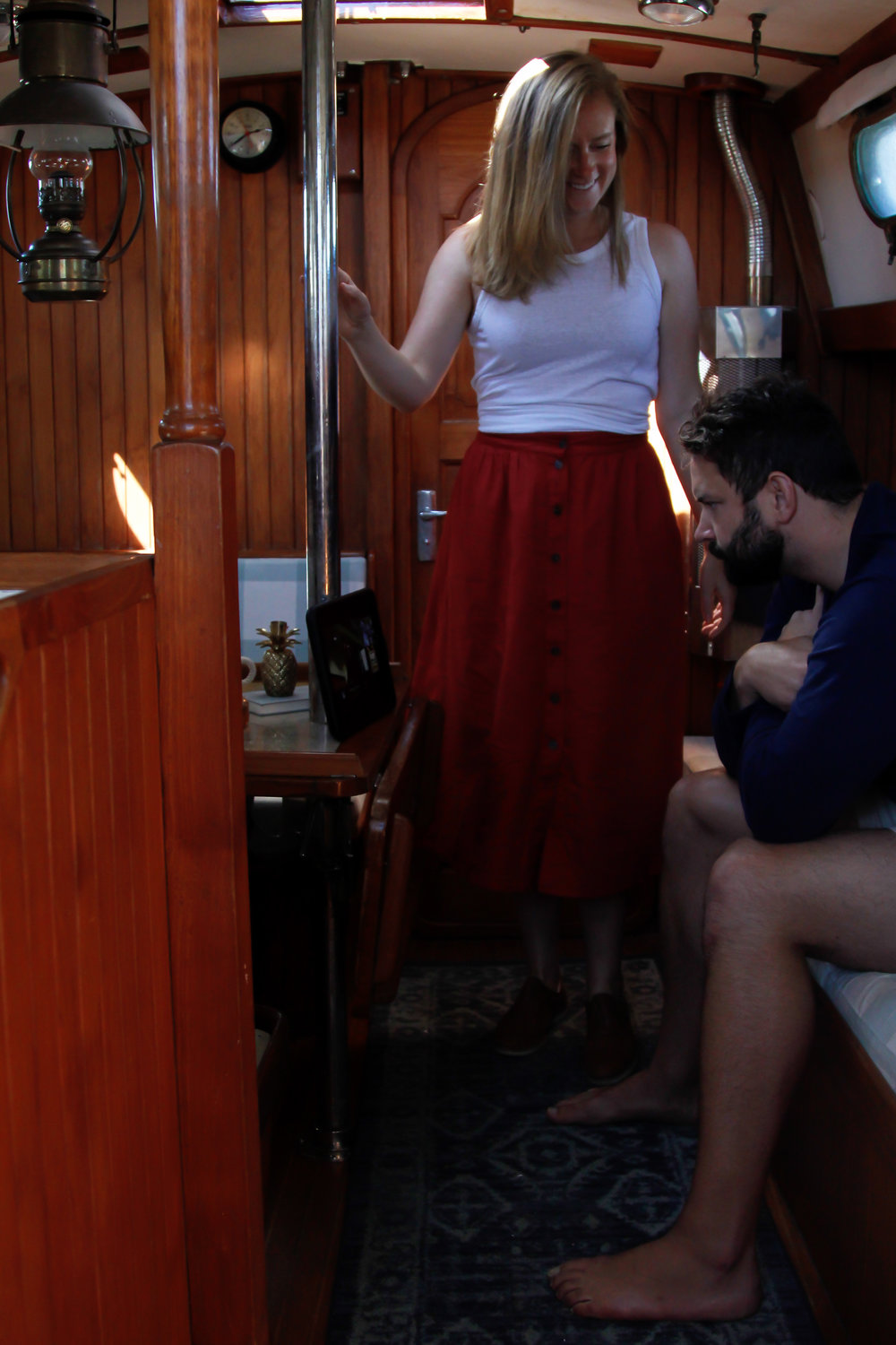 what it's like to live on a sailboat