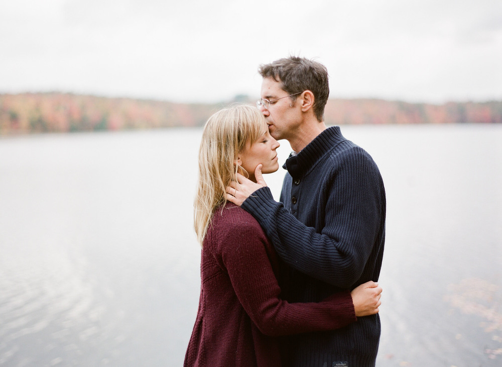 Autumn Engagment Session in New England