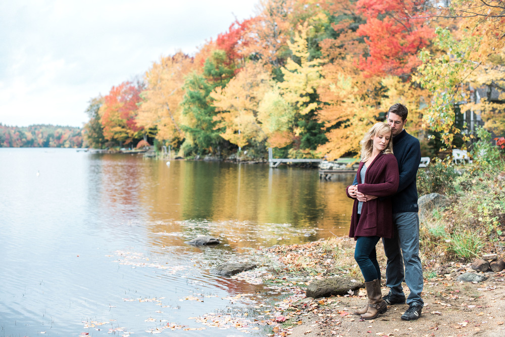 Autumn Engagement in Amherst