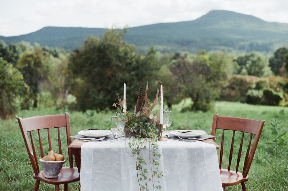 Bohemian Wedding Table by Melanie Zacek