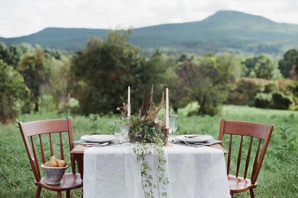 Bohemian Wedding Table by Melanie Zacek