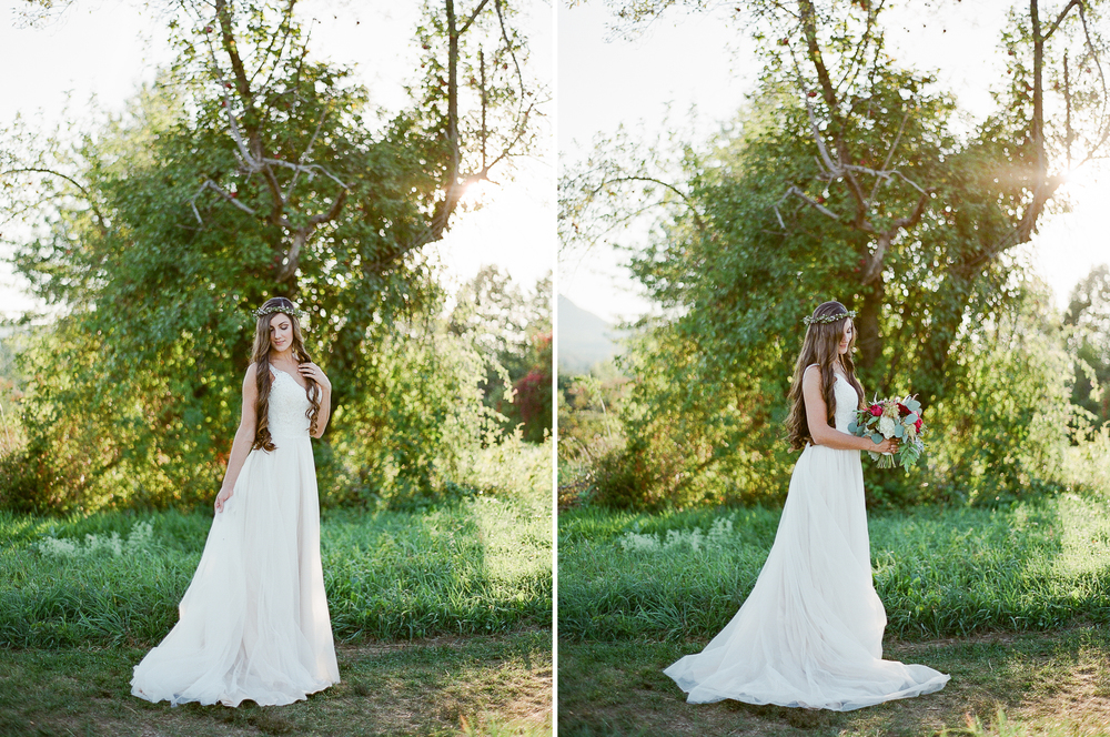 Romantic Bridal Inspiration by Melanie Zacek