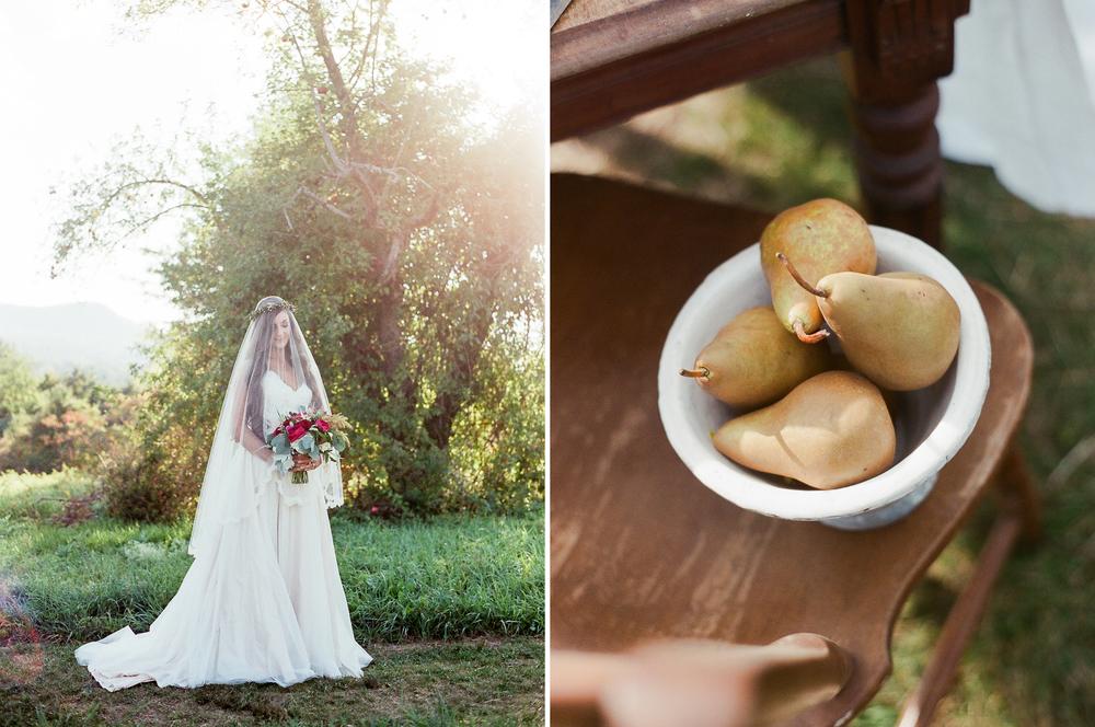 Fairytale Bridal Portrait by Melanie Zacek