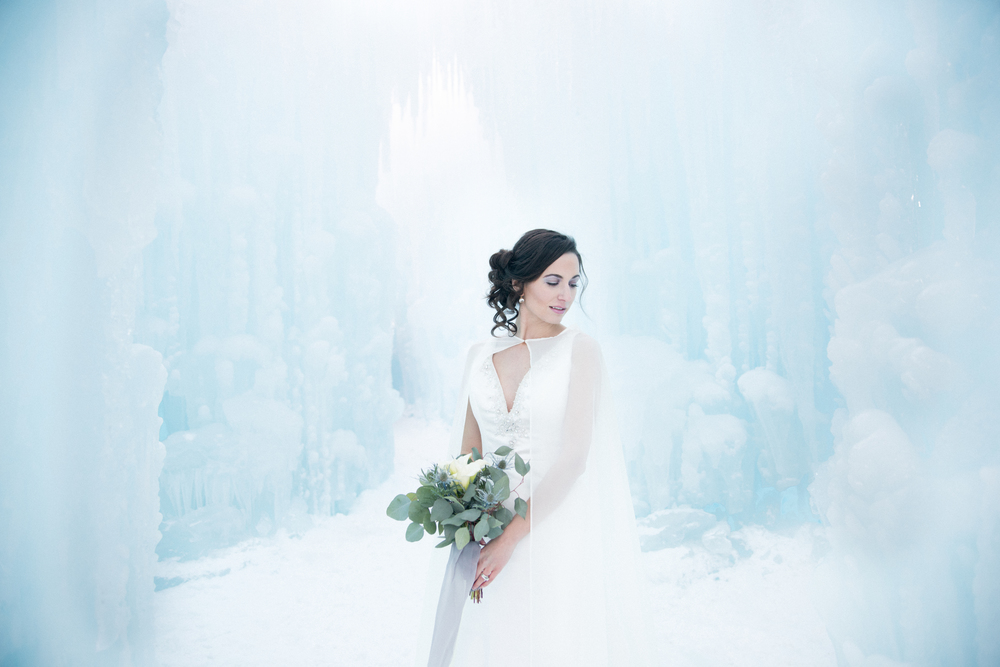 NH Ice Castle Wedding
