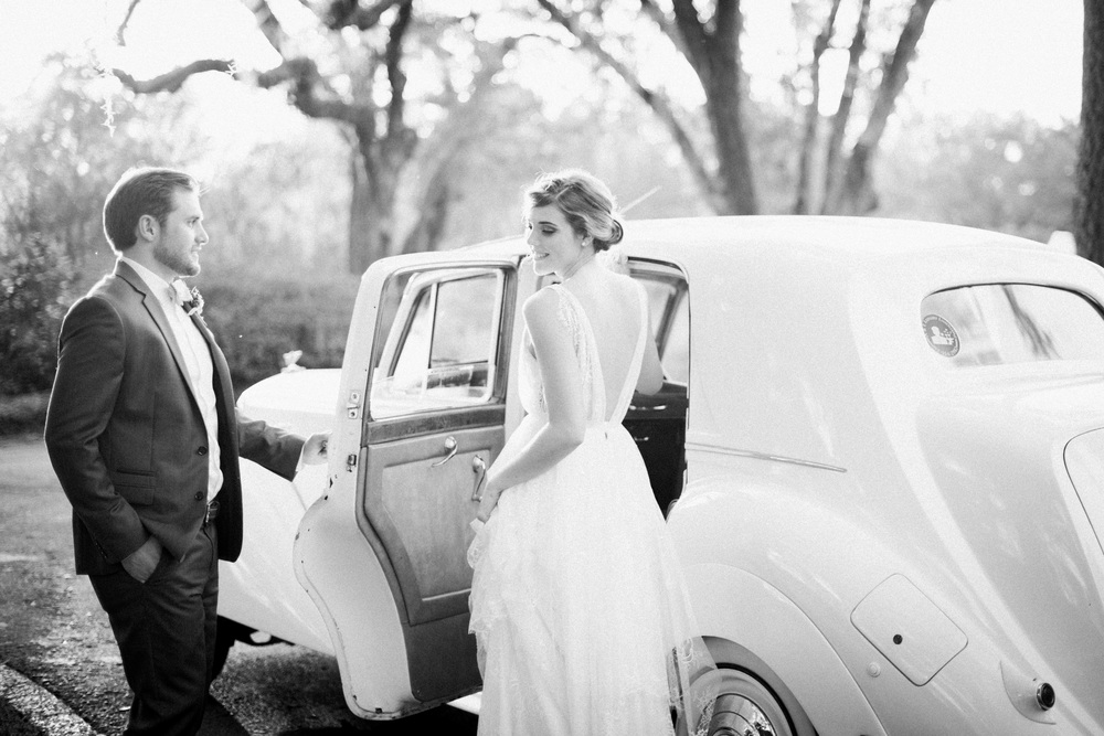 Vintage Car, Okatie Wedding Photography