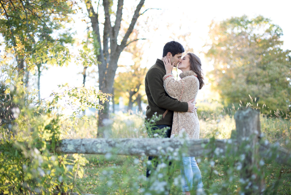 Autumn New England Engagement Session