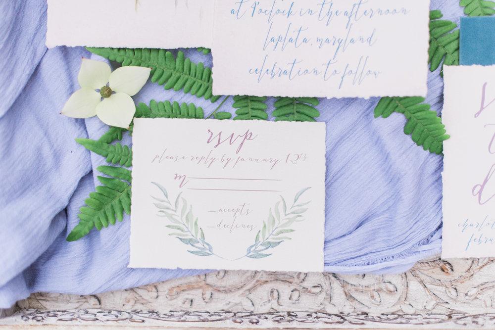 Fine Art Wedding Invitations