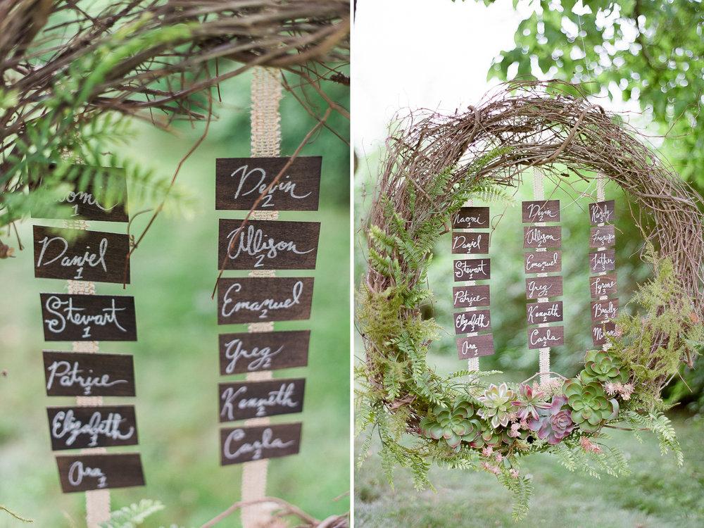 New England Woodland Wedding