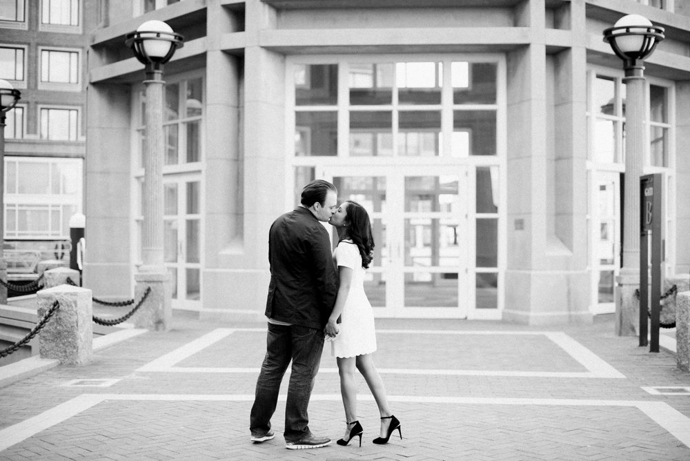 Wedding Portraits at Boston Harbor