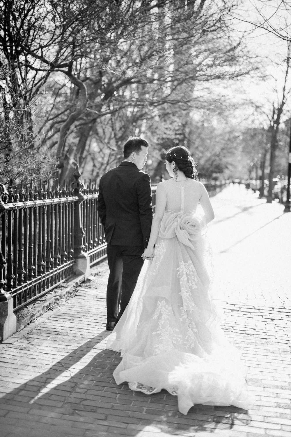 Bride and Groom Photos in Boston