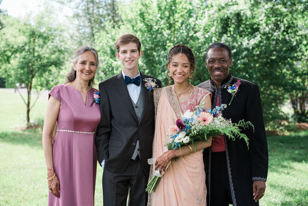 Amherst Area Wedding Photography
