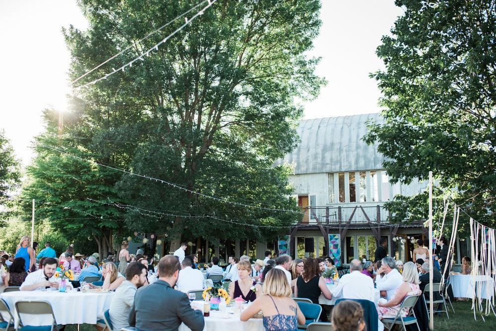 Al Fresco Wedding in Massachusetts