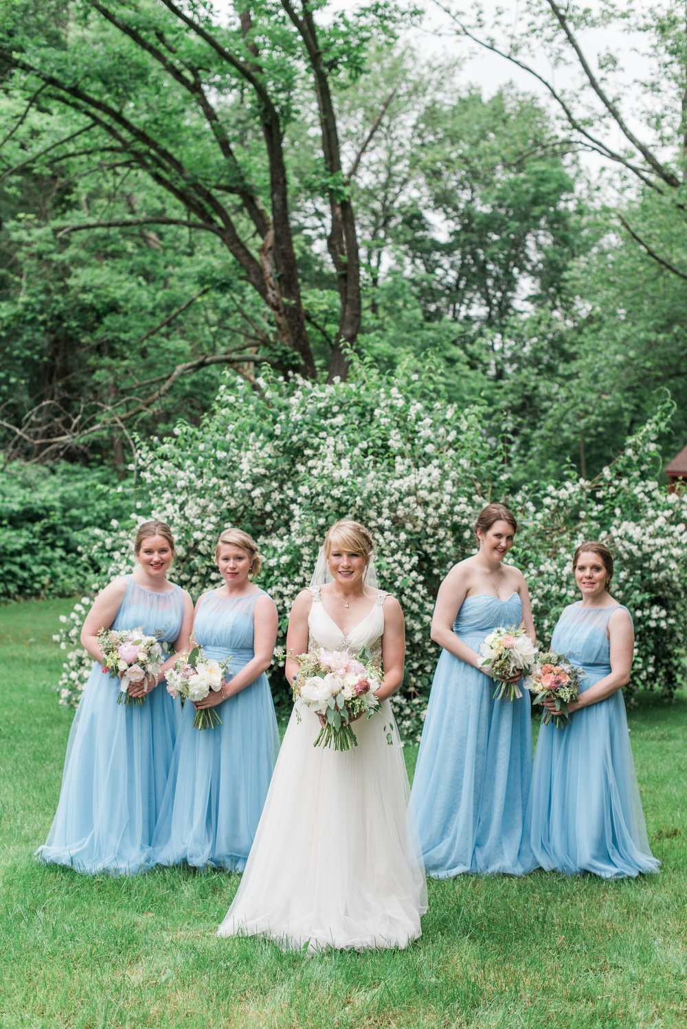Summer wedding in Massachusetts